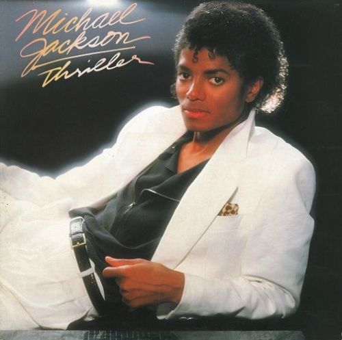 MICHAEL JACKSON Thriller Vinyl Record LP Dutch Epic 1982.